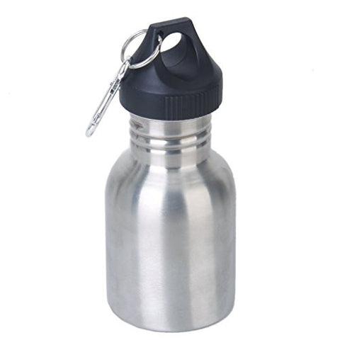 SanWay 350 ML Stainless Steel Cycling/Camping Sports Drinking Wide Mouth Water Bottle