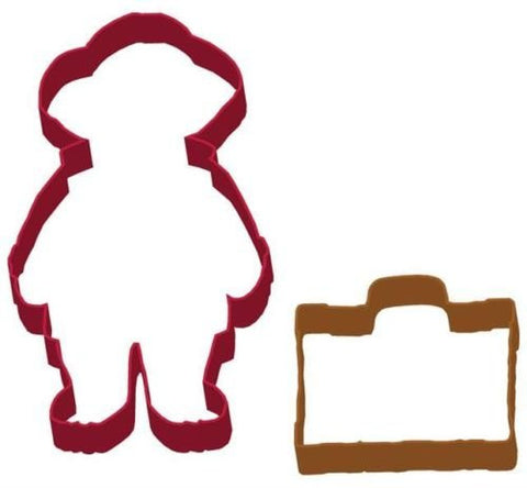 Paddington Bear & Suitcase Shaped Cookie Cutter Set