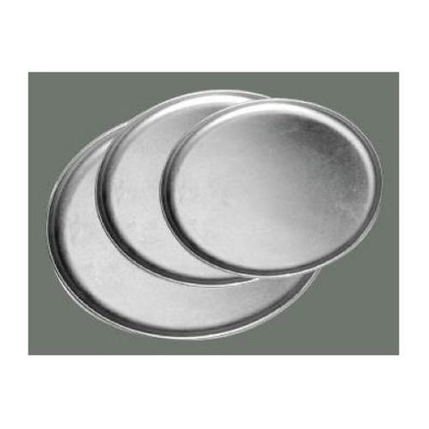 Winco Aluminum Coupe Style Pizza Tray, 8 inch -- 1 each.