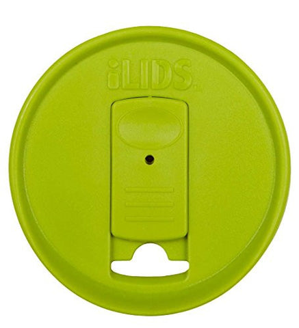 iLids Mason Straw Lid, Regular, in Green