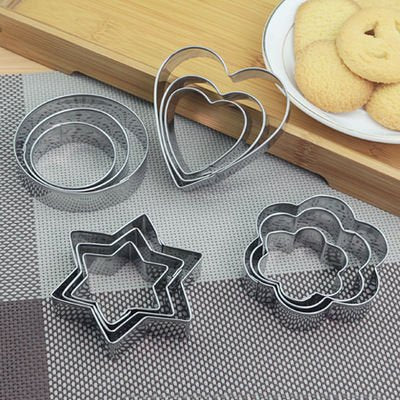 Small Stainless Steel Round Adjustable Mousse Ring With Scale Cake Baking Mold