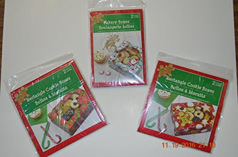 Cookie Gift Boxes - Set of 8 boxes