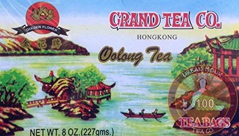 Grand Tea Company Oolong Tea 100 Bags Fat Burner WuYi Diet Dieters Tea