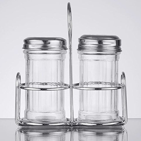 MGLCS Mini Glass Shakers and Caddy By TableTop King