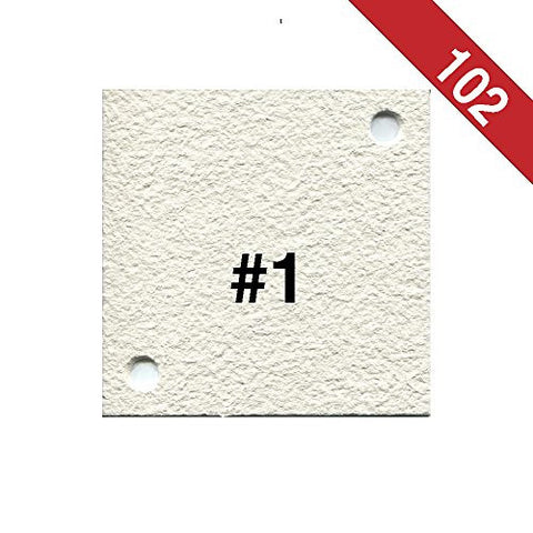 Buon Vino Super Jet Filter Pads, 8.0 Micron (#1) White (Pack of 102)