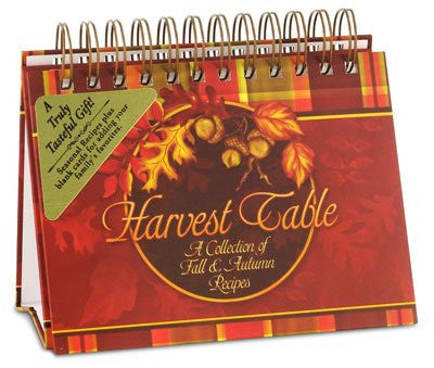 Harvest Blessing Cookbook-Recipe Holder