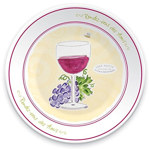 "Boston International Rendez-vous Dipping Dish, 4.75"", Wine"