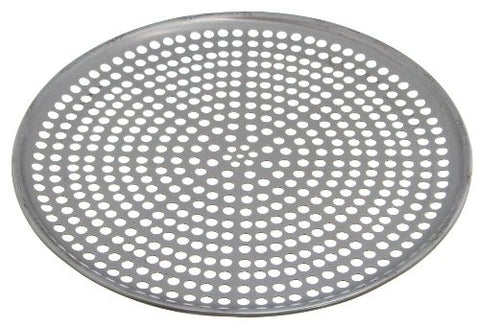 Browne Foodservice 575353 Thermalloy Aluminum Perforated Pizza Pan, 13-Inch