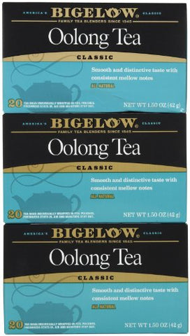 Bigelow Oolong Tea Bags - 20 ct - 3 pk