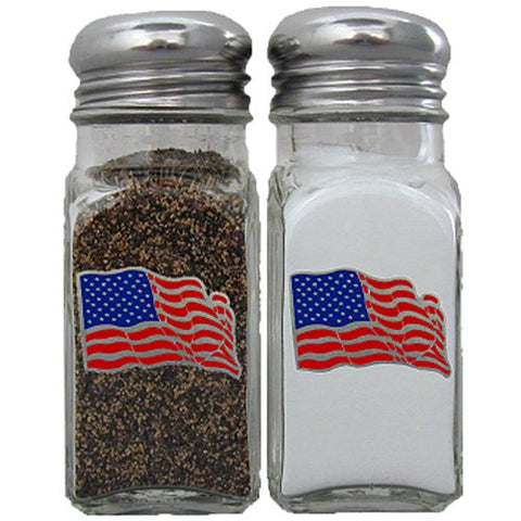 US Flag Salt & Pepper Shaker