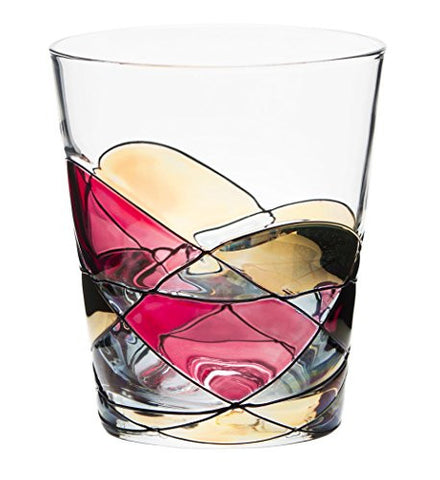 ANTONI BARCELONA Drinking Glass 12oz - Unique Drinking Glasses, Drinkware Essentials, Wine Tumbler, Glassware Set - Gifts Ideas for Family, Grandparents, Men, Grandmother, Love Gifts
