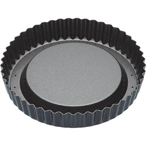 "8"" Raised Fluted Flan Baking Tin (Pack of 4)"