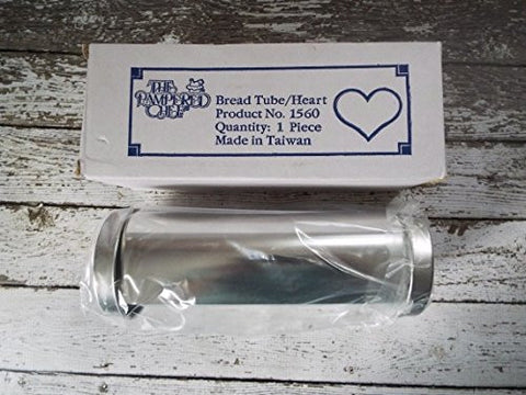 Pampered Chef Bread Tube 1560 Heart Baking Mold Kitchen Bakeware in Box