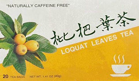 1.41oz Loquat Leaves Tea by Kinginseng Product (One Box Per Order)