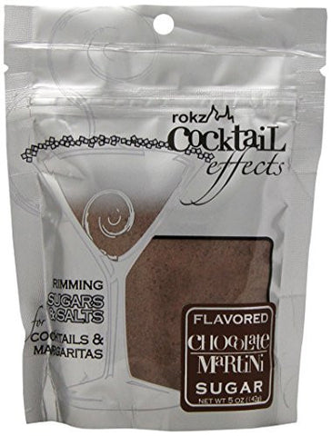 Rokz Design Group Martini Sugar, Chocolate, 5 Ounce