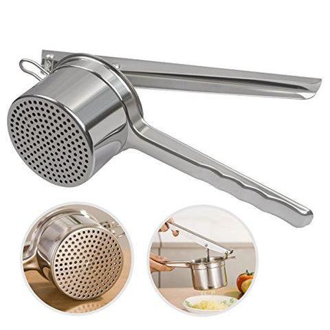 Ruilida Stainless Potato Cheese Baby Food Ricer 2 PCS