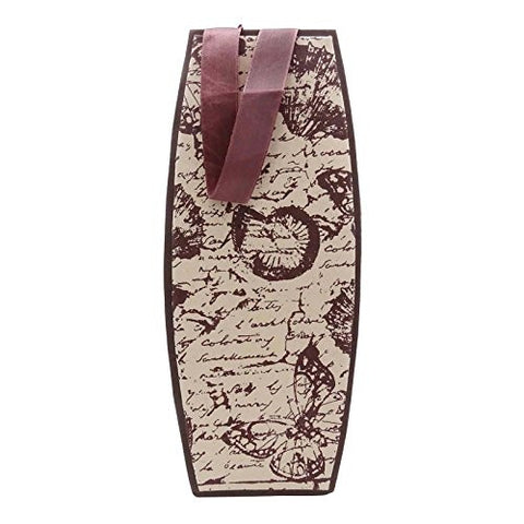 Wine Bottle Bag Champagne Paper Pouch Printed Cocktail Party Bottle Holder Gift