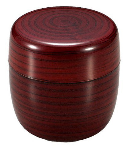 Grain ABS resin 3.5inch Japanese Tea Caddy
