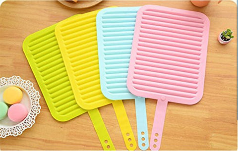 "FinalZ 9"" x 12"" Multi-purpose Silicone Pot Holders, Trivets, Spoon Rest, Baking Gadget Kitchen Table Mat and Oven Use - Insulated, Flexible, Durable, Non Slip Hot Pads and Coasters Cup"