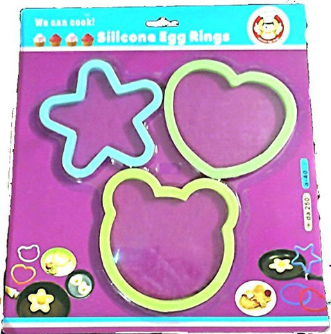 Chaina Maid Silicone Egg Rings