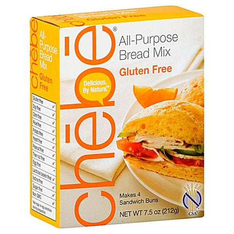 Chebe All Purpose Bread Mix,gluten Free 7.5 Oz (Pack of 3)