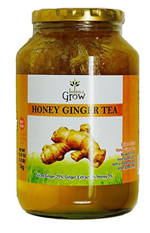 Balance Grow Honey Ginger Tea Korean, 2.2 LB
