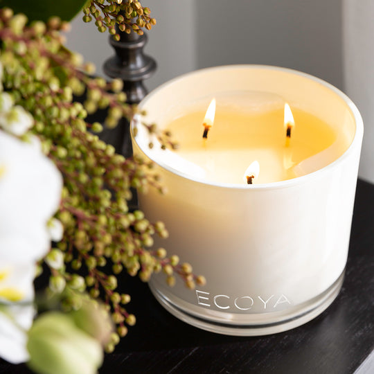 INTRODUCING OUR GRAND MADISON JAR IN LOTUS FLOWER AND SWEET PEA & JASMINE