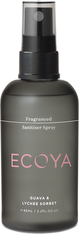 Fragranced hand sanitiser spray