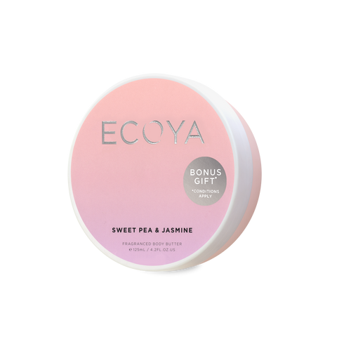 Free Sweet Pea & Jasmine Body Butter