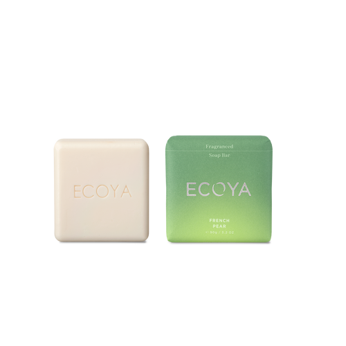French Pear ECOYA soaps