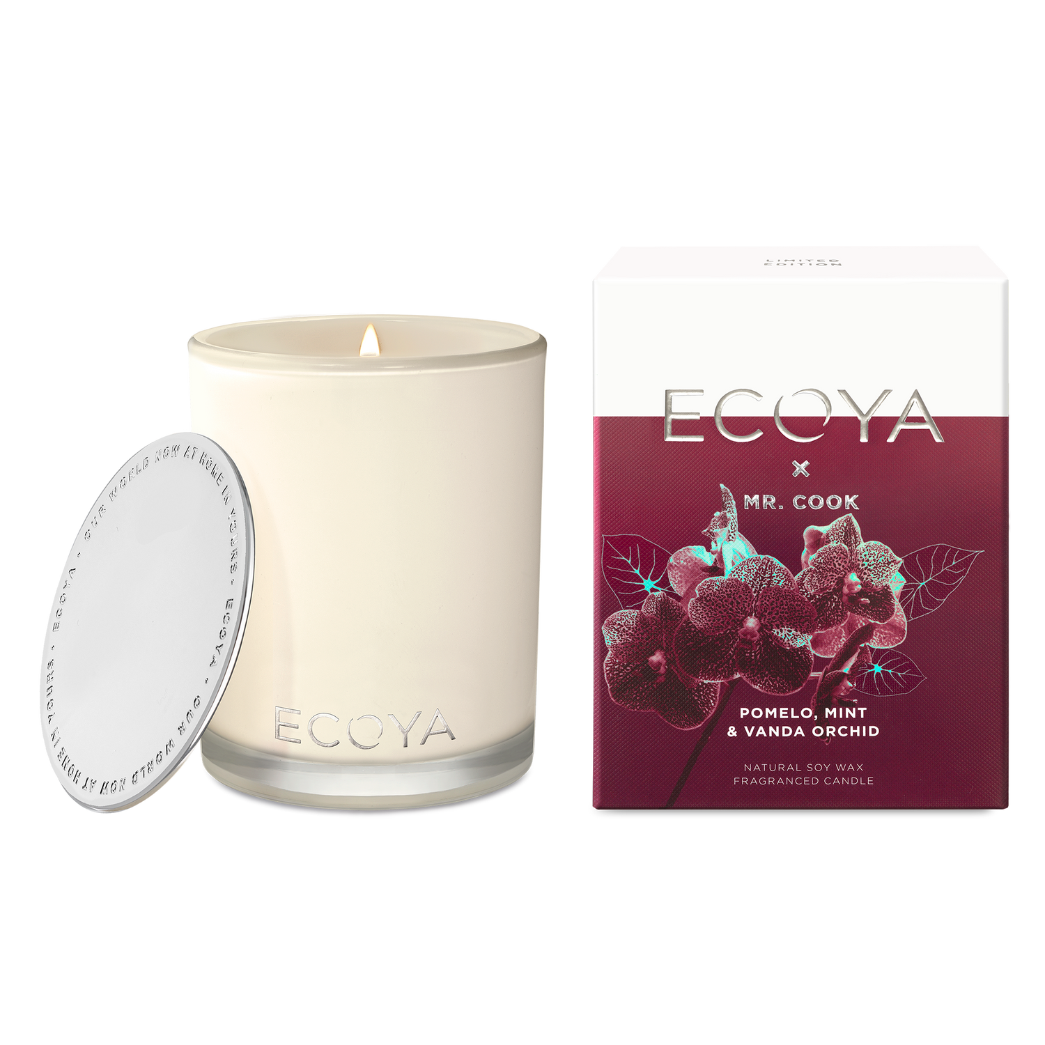ECOYA X MR COOK | Pomelo, Mint & Vanda Orchid Madison Jar