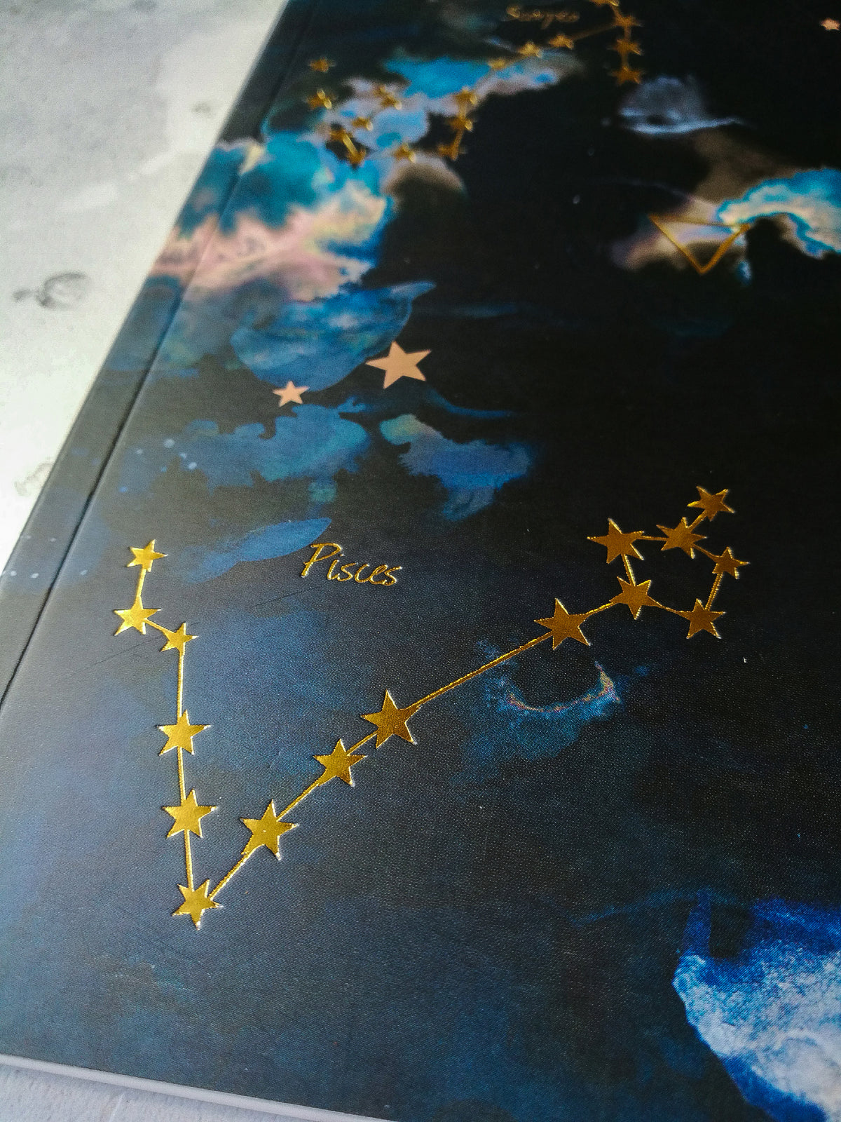 A5 WATER Elements Notebook (Cancer, Scorpio & Pisces)