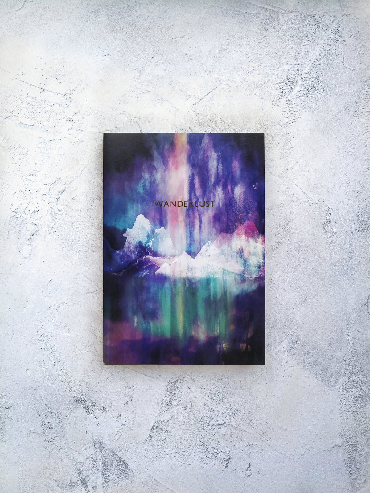 A5 wanderlust Northern lights notebook