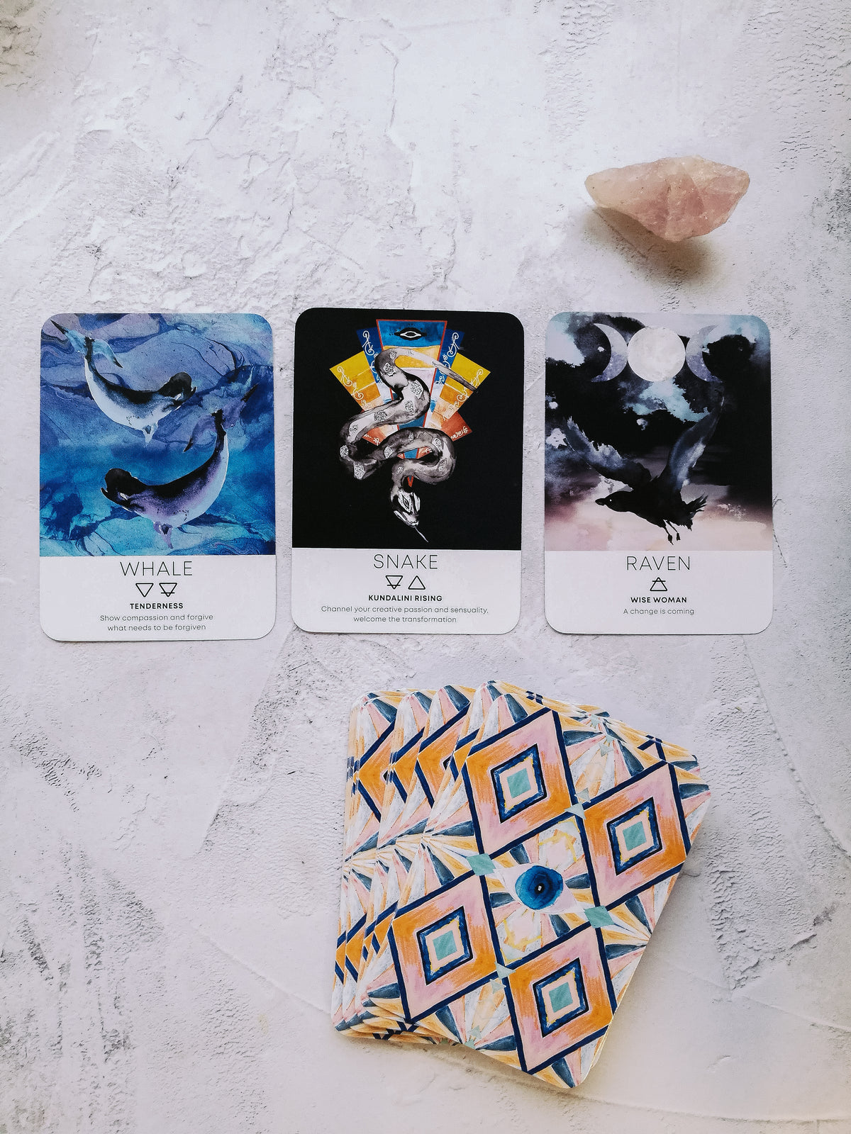 Spirit Animal Wisdom 50 card deck (Katie-Jane Wright X Nikki Strange)