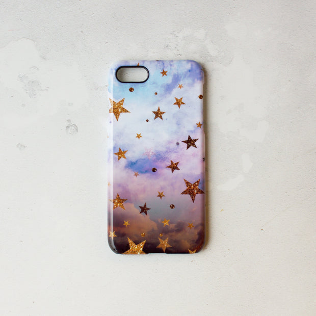 Cloudy Stars Smart Phone Case