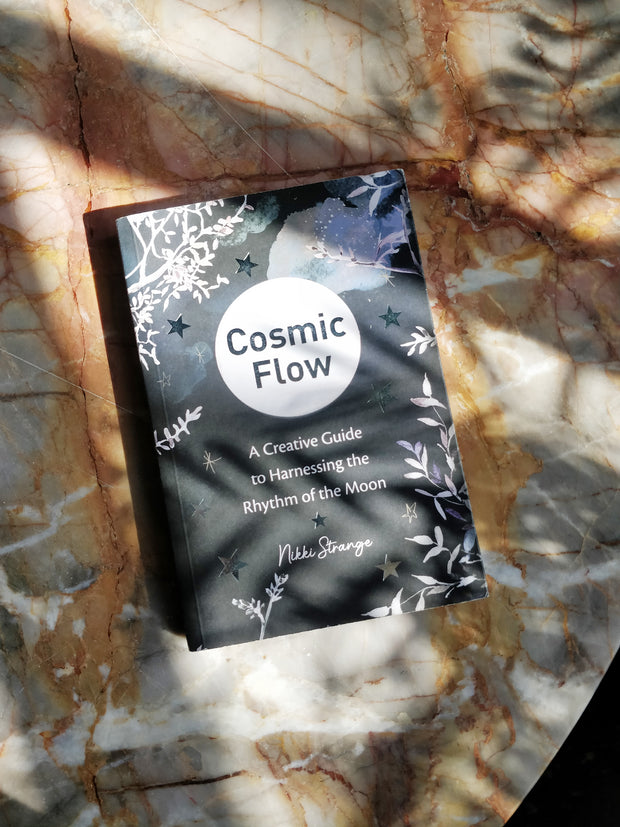 Cosmic flow creative moon journal