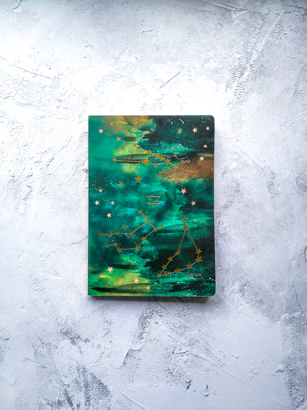 A5 EARTH Elements Notebook (Taurus, Virgo & Capricorn)