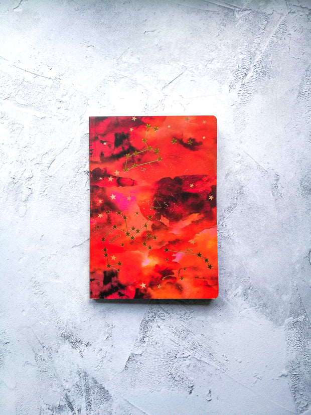 A5 FIRE Elements Notebook (Aries, Leo & Sagittarius)