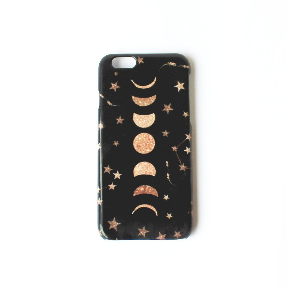 Phases Of The Moon Smart Phone Case
