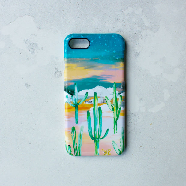Twilight desert case phone case