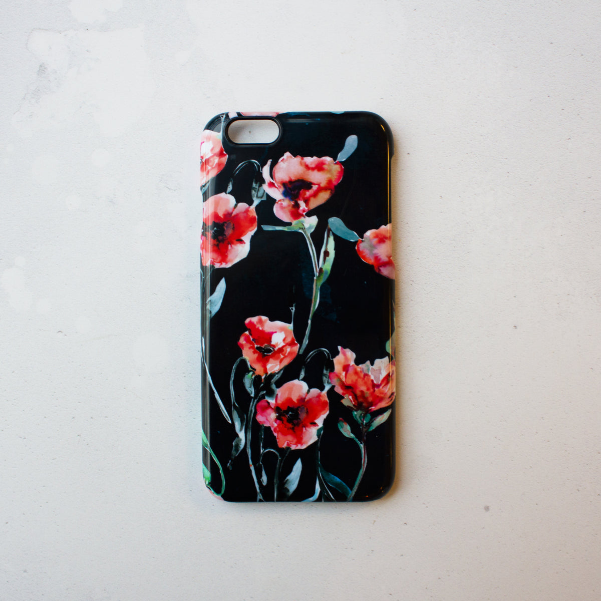 Winter Poppies Smart phone case