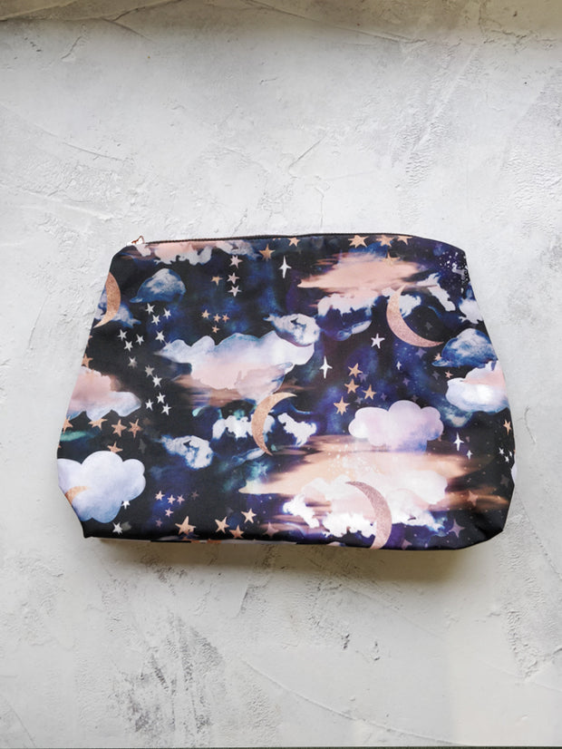 Stardust waterproof travel cosmetic bag