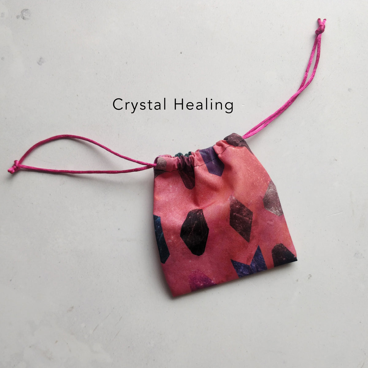 Pink Freedom feathers menstrual cup pouch bag