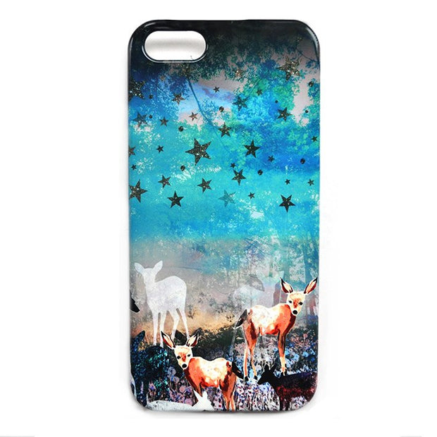 Deer Enchanted Forest Smart Phone Case
