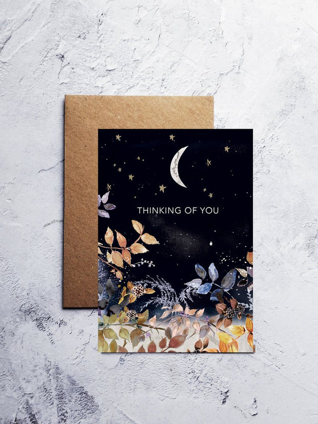 A6 Thinking of you greeting card