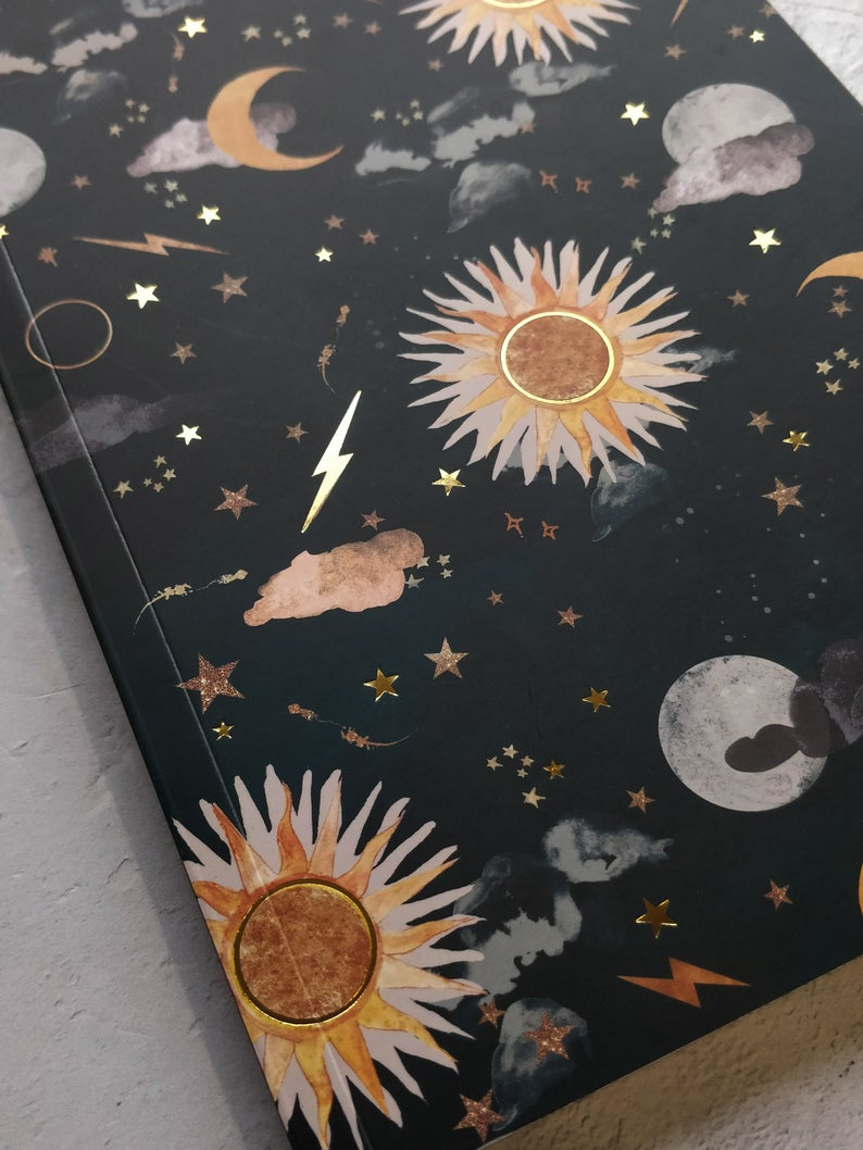 A5 Luna & solis notebook