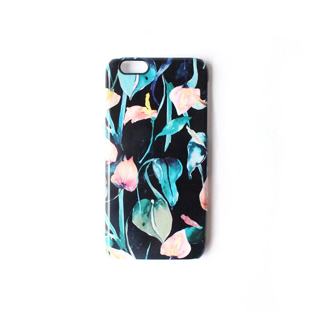 Night Lilies Smart Phone Case