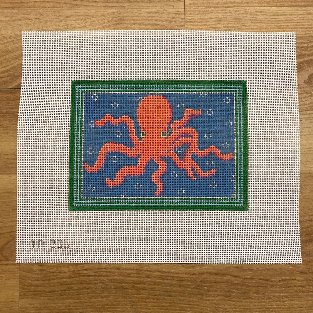 Octavius the Octopus Canvas