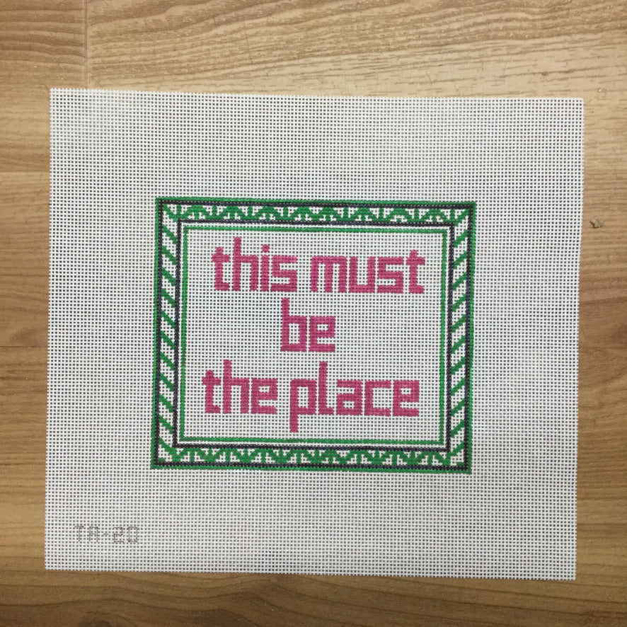 This Must Be The Place Canvas