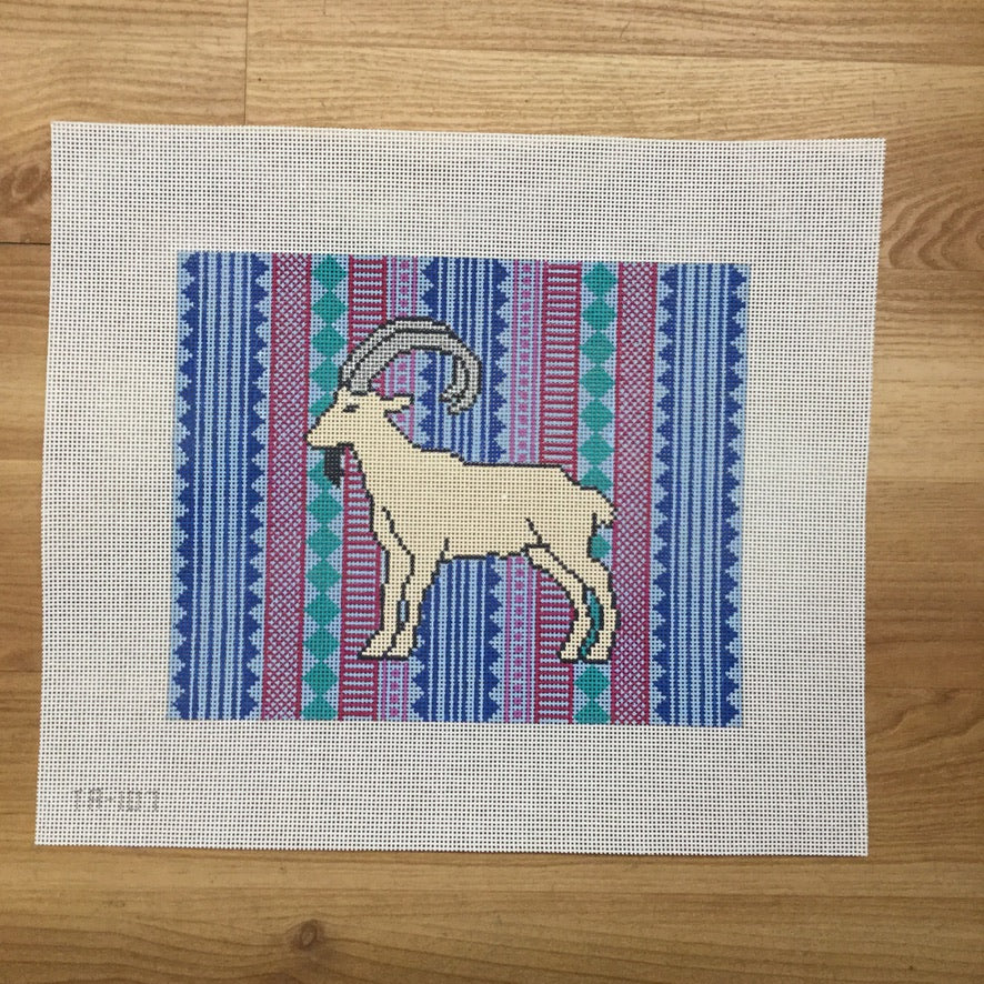 Isla the Ibex Canvas
